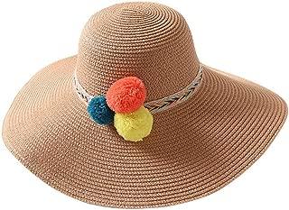 Summer Visors Cap Spring Sunhat Wide Large Brim Sun Hat Beach Hats for Women Straw Hat Wholesale Chapeau