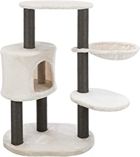 Moriles Gray Cat Tower with Scratching Posts, Condo, Hammock, Padded Platform