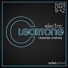 Cleartone Electric .009-.042 Super Light Strings