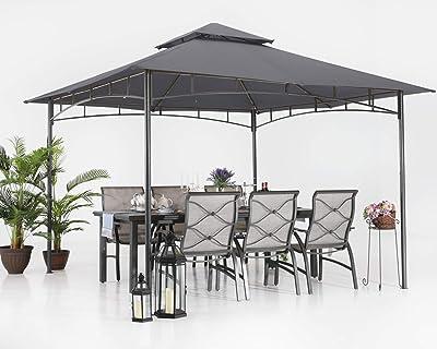 ABCCANOPY Gazebos de patio para patios doble techo suave ...