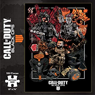 Wizkids Current Edition Call of Duty Puzzle 550Pc Board Game