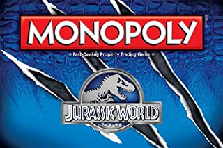 USAOPOLY Monopoly: Jurassic World Edition Board Game