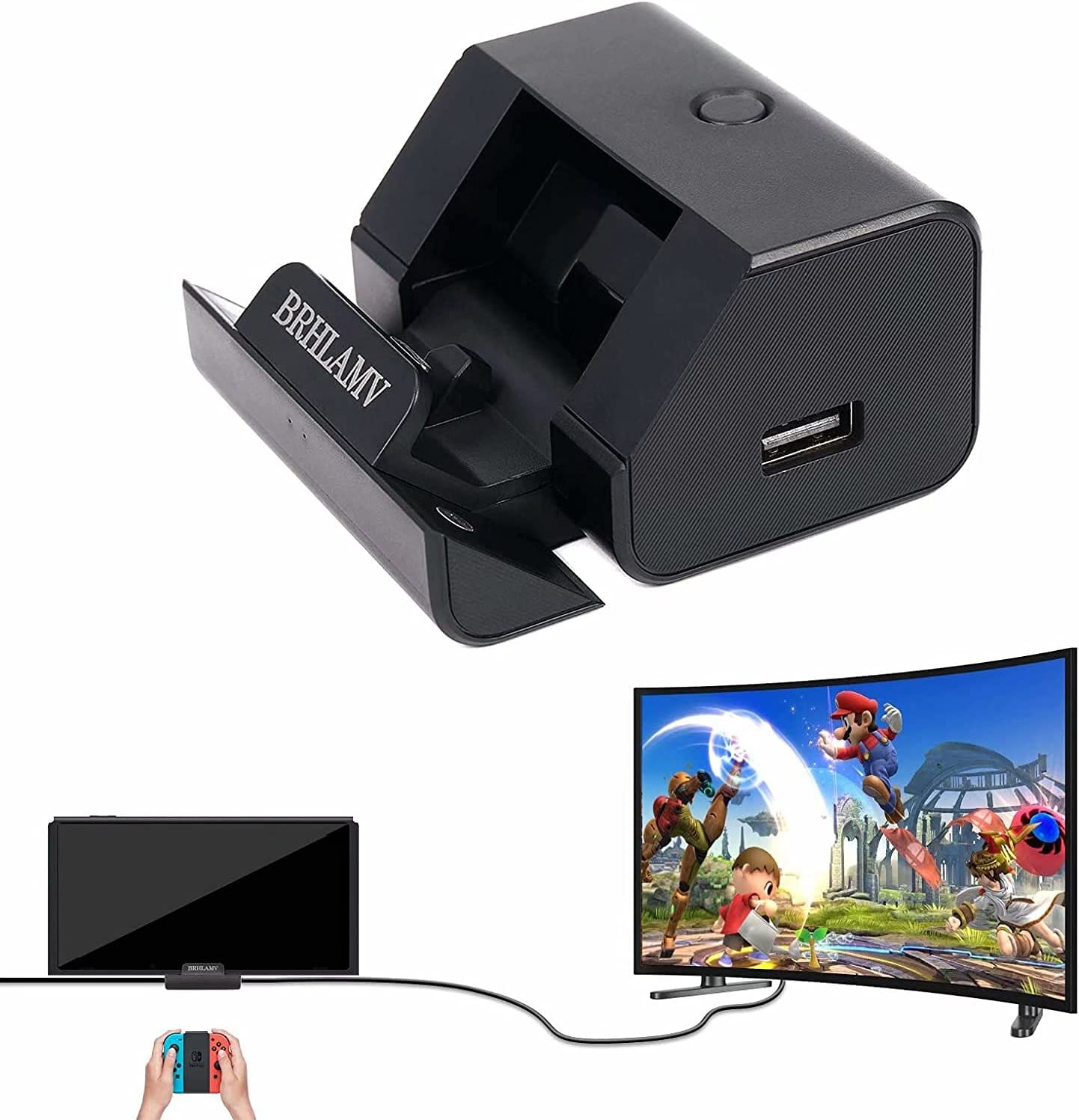 Portable Dock for Switch BRHLAMV Cradle Hub Indefinitely Connecto Ranking TOP19 Mini Small