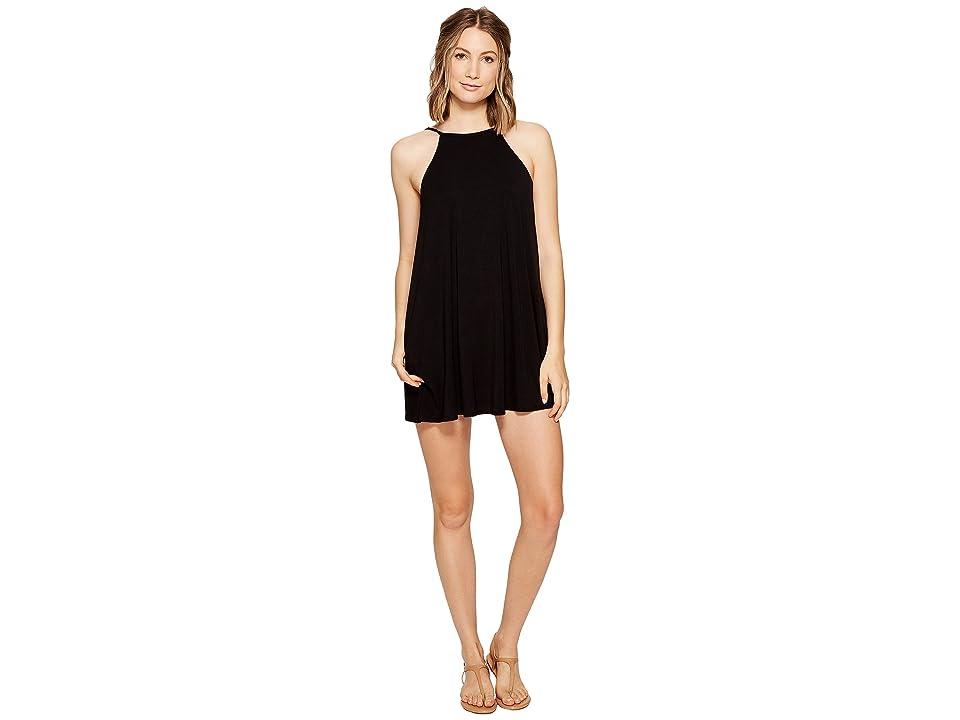 RVCA Pipe Dream Swing Tank Dress (Black) Women