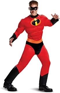 Incredibles 2 Classic Mr. Incredible Muscle Costume for Adults