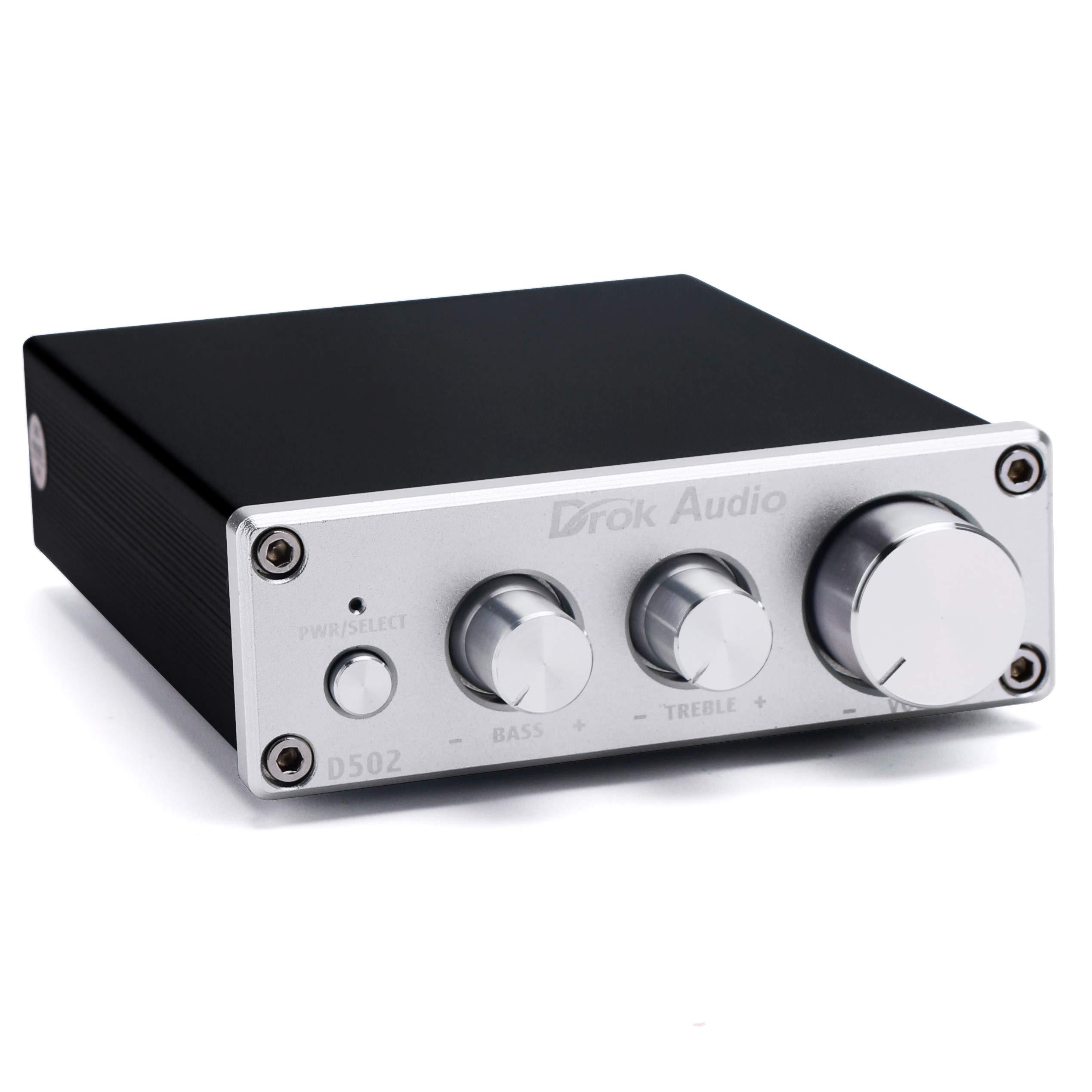 Amplifier DROK Integrated Amplifiers Adjustment