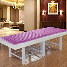 Thicken Non-Slip Beauty Salon Mattress,Crystal Velvet Mattress with Holes Massage Health Physiotherapy Bed Sheet Available...