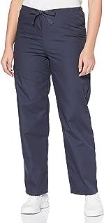 Adar Universal Unisex Scrubs - Drawstring Tapered Leg Scrub Trousers