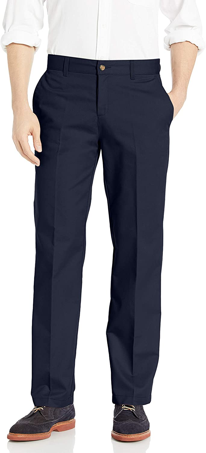 Dickies Men's Weekly update Flat Front Max 51% OFF Fit Pant-Relaxed Khaki Straight