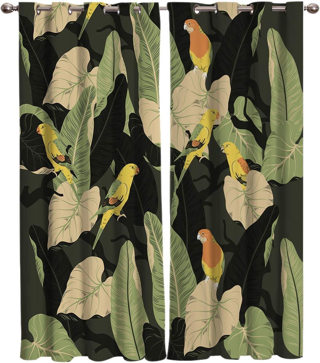 TH Home Curtain Panel for Bedroom Summ Door 直営ストア Patio 訳あり Living Room -