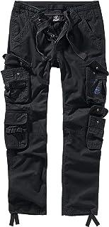 Brandit Pure - Pantaloni cargo da uomo, taglio slim fit, molti colori disponibili, taglie dalla S alla 5XL