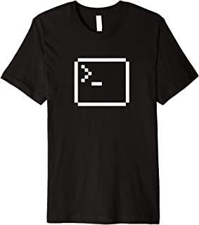 "Dev Tees - ""Pixel Shell"" software developer t-shirt"