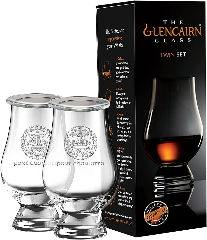Port Charlotte Islay Crest Twin Gl New life Tasting Ranking TOP5 Pack Whisky Glencairn