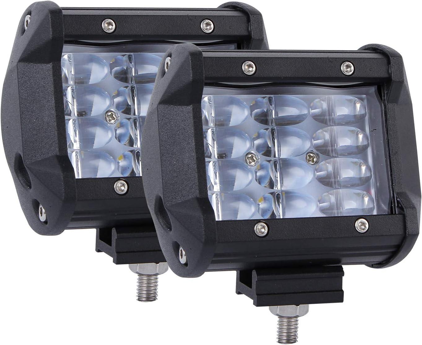 GZCRDZ 4 Inch 108W 8D Lens Car Work Max 46% OFF Popular popular LED Lu Light Bar 10800