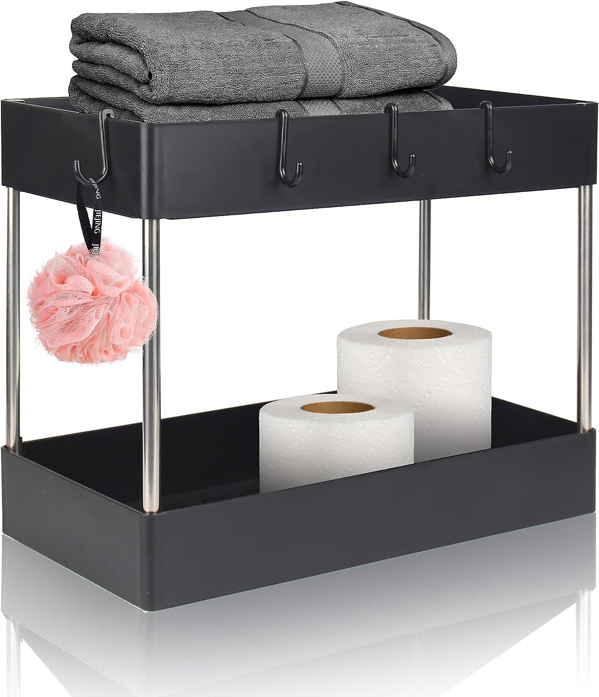 Bengenta Under Sink Elegant Organizer Shelf Tier Spice 2 Rack Dealing full price reduction