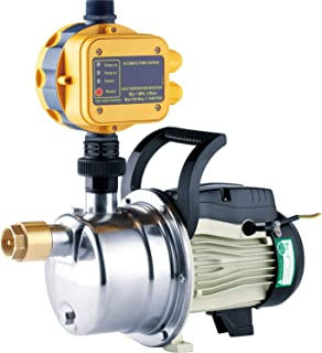 1/2 HP Pressure Booster Pump Automatic Water Pump Tankless Shallow Well Self-priming Jet Pump System