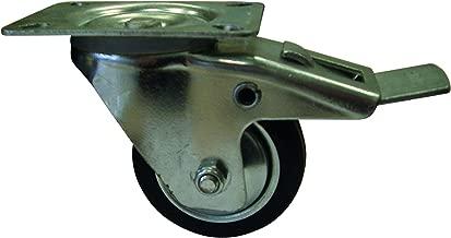 rosca M10/x 15/mm 256800.0 50/mm HSI Muebles ruedas Rueda de goma con l/ápiz l/ápiz 1/pieza