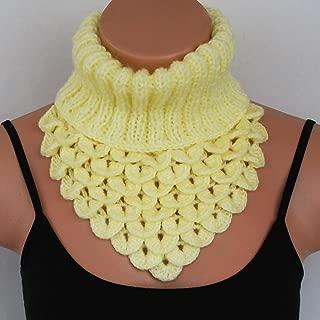 dragon scale crochet scarf