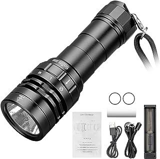 Sofirn SD05 Taucher Taschenlampe Unterwasser Lampe 3000 Lumen