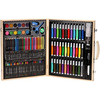Art Supplies for Drawing Painting and More in a Compact Deluxe Art Set