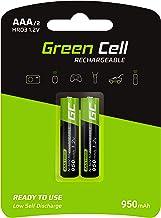 Green Cell 2X AAA 950mAh 1.2V Juego de 2 Pilas Recargables