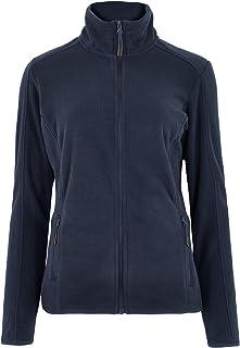 Marks & Spencer Women's Zip Up Fleece, 8, NAVY