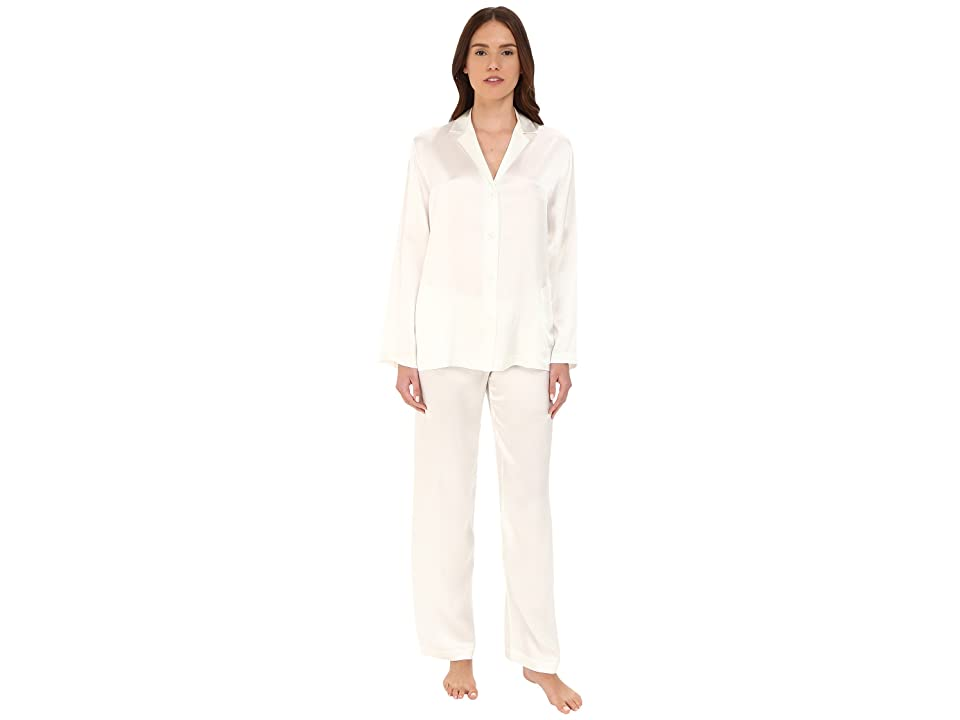 La Perla Silk Pajama (Natural) Women