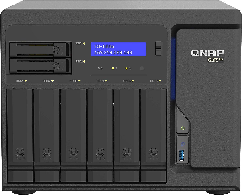 QNAP TS h20 20 Bay Enterprise NAS with Intel Xeon ...   Amazon.com