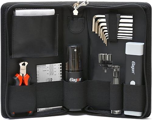 Elagon (ST) Pro Care Kit pour toutes guitares. Kit complet d'entretien et de nettoyage. Tout ce qu'il faut pour maint...