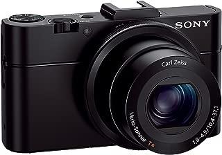 Sony DSCRX100M2/B 20.2 MP Cyber-shot Digital Still Camera (Black) (Renewed)