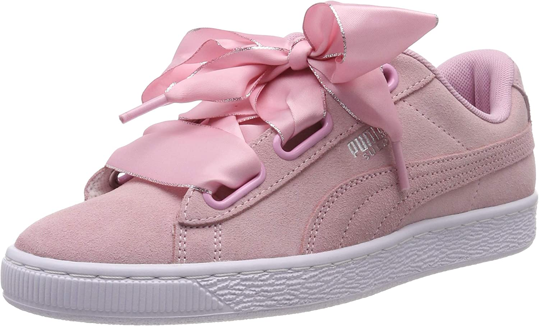 PUMA Women's Suede Heart Galaxy WN's Low-Top Sneakers