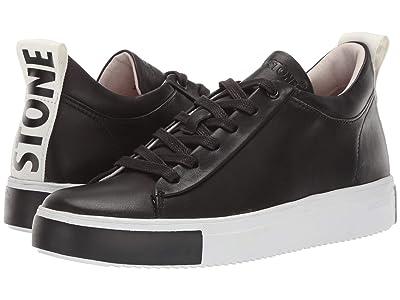 Blackstone Mid Sneaker Black Stone RL65 (Black) Women
