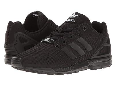 adidas Originals Kids ZX Flux EL (Big Kids) (Core Black/Core Black/Core Black) Boys Shoes