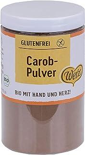 Werz Carob-Pulver glutenfrei, 1er Pack 1 x 200 g Dose - Bio
