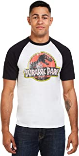 Jurassic Park Distressed Logo T-Shirt Homme