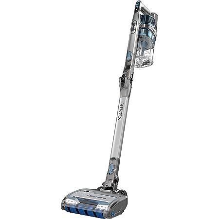 Shark IZ462H Vertex Ultra Lightweight Anti-Allergen Pet Cordless Stick Vacuum with DuoClean PowerFins, Crevice, Pet Multi-Tool, Anti-Allergen, Brush, Removable Handheld, Flex, 60 min runtime, Blue