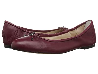 Sam Edelman Felicia (Beet Red Nappa Luva Leather) Women