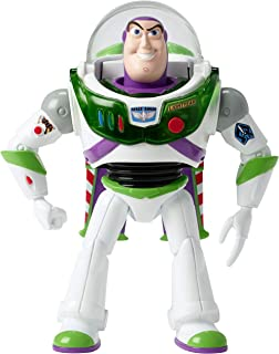 Disney Pixar Toy Story 4 Blast-Off Buzz Lightyear Figure, 7 in / 17.78 cm-Tall, with Lights, Phrases, Sounds and Pop-Out Wings, Gift for Kids 3 Years and Older [Amazon Exclusive]