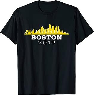Boston 2019 Skyline Marathon Shirt - Tshirt