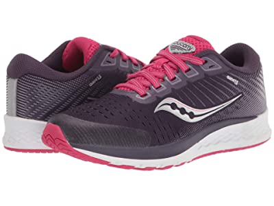 Saucony Kids S-Guide 13 (Little Kid/Big Kid) (Dusk/Berry) Girls Shoes