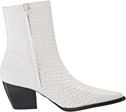White Snake Leather