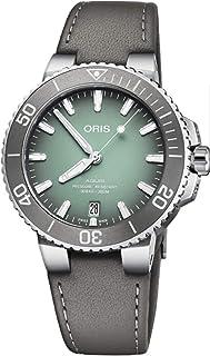Oris Aquis Date 39.5mm Mens Green Dial Watch