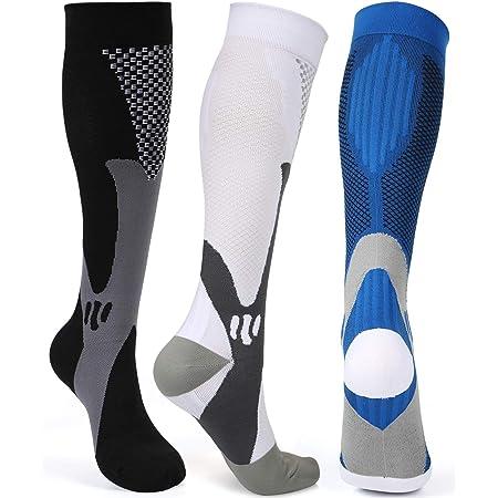 Compression Socks for Women /& Men 15-20 mmHg for Running Nursing Travel Diabetic Athletic Best Medical Edema