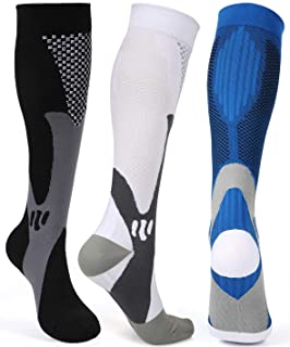 Compression Socks for Men Women 20-30 mmHg Compression Socks