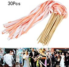 Silk Fairy Stick Zauberstab Party Favors f/ür Party-Aktivit/äten Hochzeitsfeier Holiday Celebration Jiaxingo 30Pcs Ribbon Wands Hochzeit Luftschlangen mit Glocken