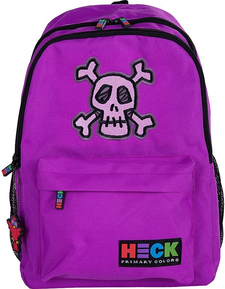 Sale special price Ed Heck 17-Inch Purple Skull Backpack New product type