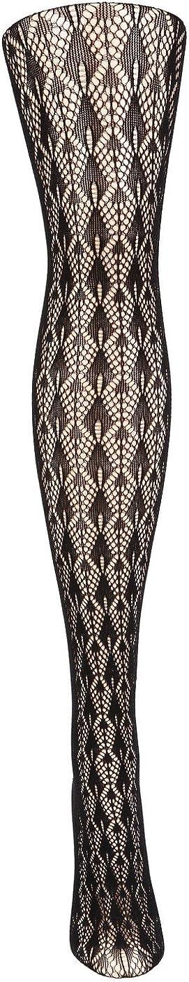 Stella Elyse Abstract Fishnet Pantyhose