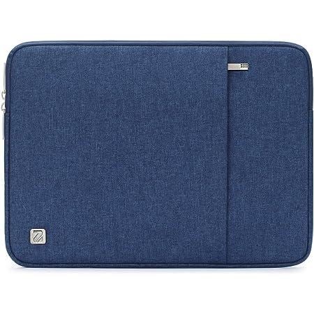 """NIDOO 10-10.1インチ ラップトップスリーブ 撥水 タブレットケース 10.2"""" iPad / 9.7インチ / 11 インチ iPad Pro 2020 / 10.5"""" iPad Air / 10"""" Microsoft Surface Go / 10.1"""" Lenovo Ideapad D330 ノートブック用 (10.1 インチ, ブルー)"""
