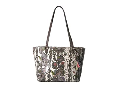 Sakroots Artist Circle Medium Satchel (Pastel Spirit Desert) Tote Handbags