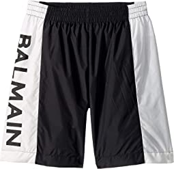 Swim Shorts w/ Logo On Side (Big Kids)